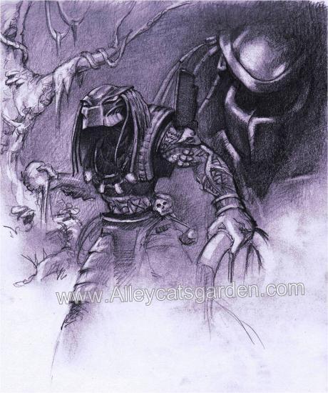 Predator by Alleycatsgarden